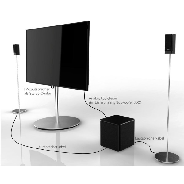 loewe klang 1 subwoofer 300. Black Bedroom Furniture Sets. Home Design Ideas