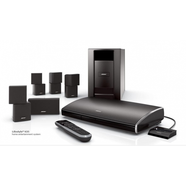 home cinema bose lifestyle v25. Black Bedroom Furniture Sets. Home Design Ideas